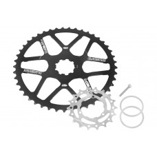Blackspire Cassette Extender Recognition Shimano 45 kit zwart Blackspire
